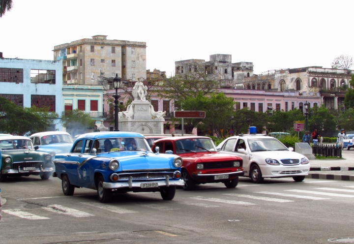 3. Kauppasaarto näkyy Kuuban autokannassa