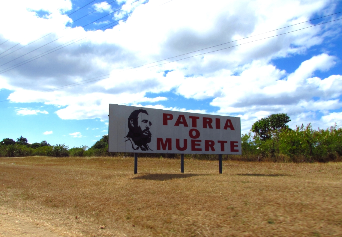 5. Kansallissankarit ovat näkyviä Kuubassa. Kuva Trinidadista.